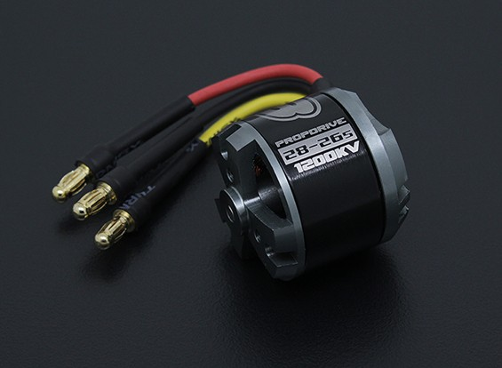 MFO Prop Drive Series 28-26A 1200kv / 286w (courte version de l'arbre)