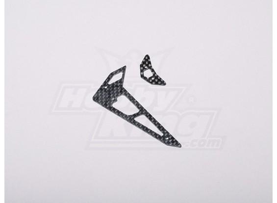 HK-250GT CF horizontal / vertical Tail Fin