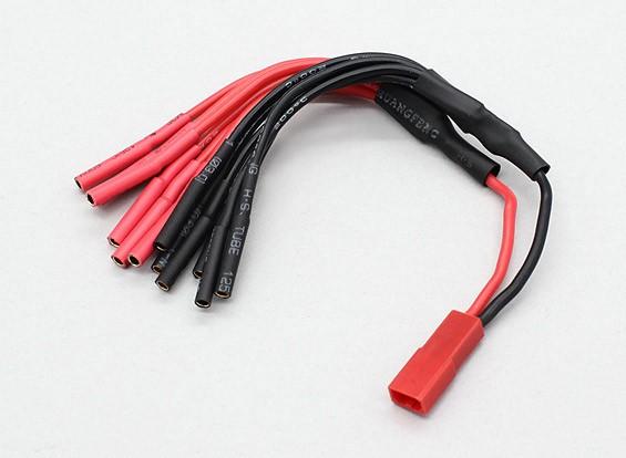 JST à 6 X 2mm Bullet Multistar ESC Puissance Breakout Câble