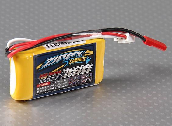 ZIPPY Compact 350mAh 2S 25C Lipo Paquet