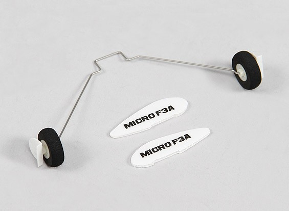 Durafly ™ F3A Micro 420mm - Remplacement Landing Gear