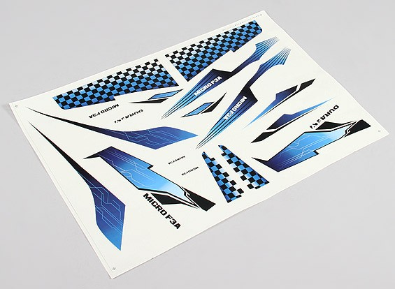 Durafly ™ F3A Micro 420mm - Remplacement Decal