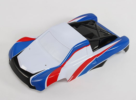 Pre-Painted Shell Body w / Stickers 1/10 Turnigy 4WD brushless Short Course Truck