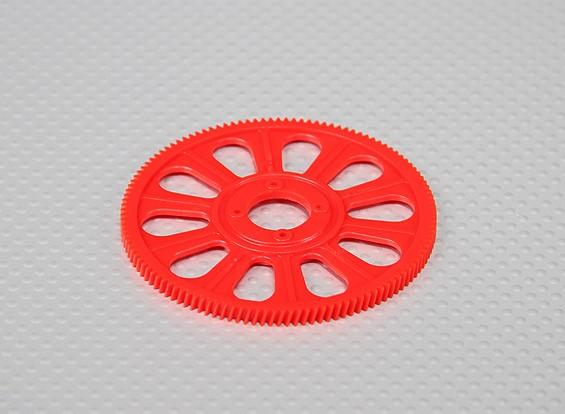 Tarot 450 PRO Helical 121T principal Gear - Red (TL45156-02)