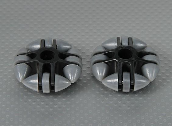 49x20mm plastique Omni Wheel (2Pcs / Bag)
