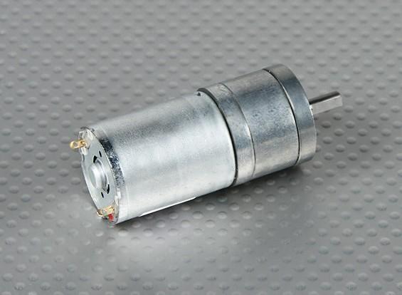 294RPM brossé moteur w / 34: 1 Boîte de vitesses