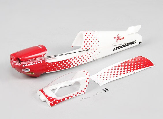 Durafly ™ Slick 360 V2 3s 490mm Micro 3D - Remplacement Fuselage