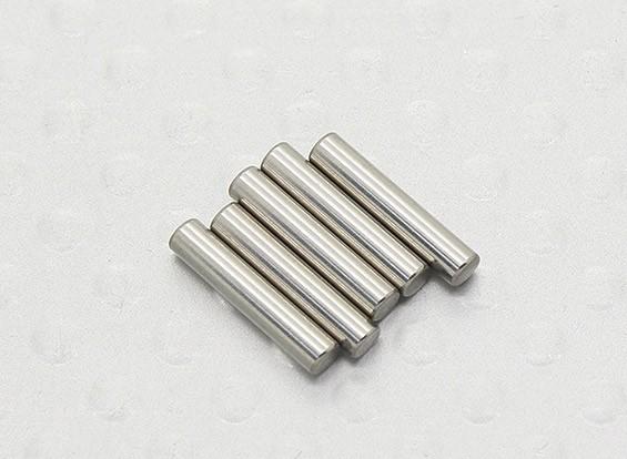 2mm x 10mm Steel Pin Turnigy TD10 4WD Touring Car PN 2010 (6pc)