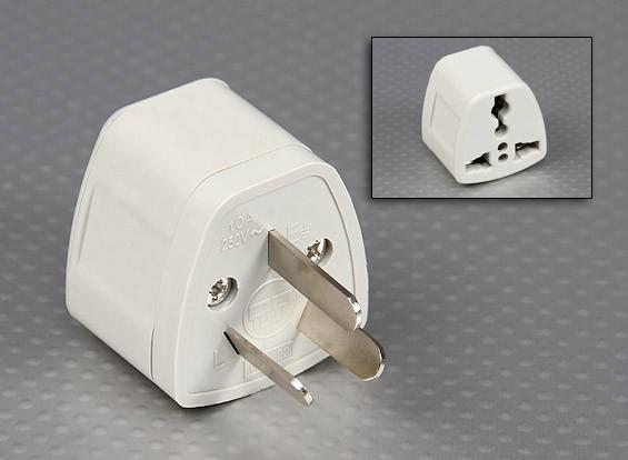 Normes australiennes AS 3112 Multi-standard Sockets Adaptateur