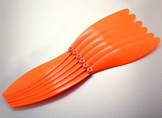 GWS EP hélice (EP1575 / 381x191mm) orange (6pcs / paquet)