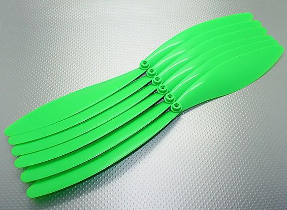 GWS EP hélice (RD-1510 381X254mm) Green (6pcs / set)