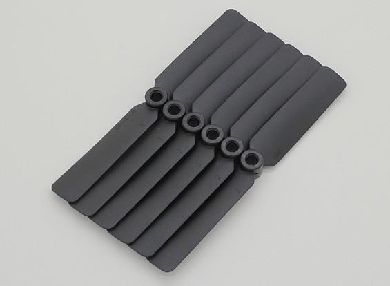 GWS EP hélice (DD-4025 102x64mm) noir (6pcs / set)