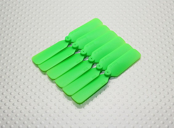 GWS EP hélice (DD-2508 65x20mm) vert (6pcs / set)