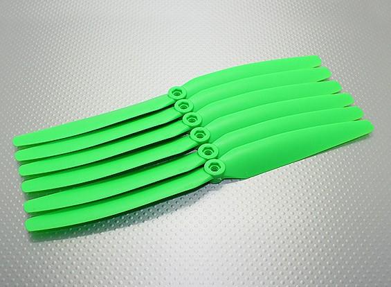 GWS EP hélice (DD-1060 254x152mm) vert (6pcs / set)