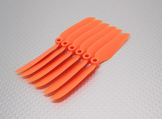 GWS EP hélice (DD-5030 127x76mm) orange (6pcs / set)
