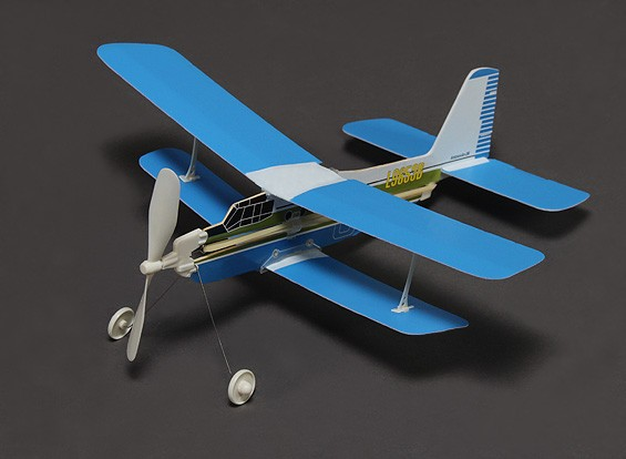 Rubber Band Powered Freeflight Antonov AN-2M Span 386 mm