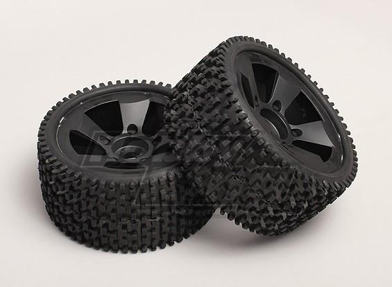 Pneus et roues (2pcs / sac) - Turnigy Trailblazer XB et XT 1/5