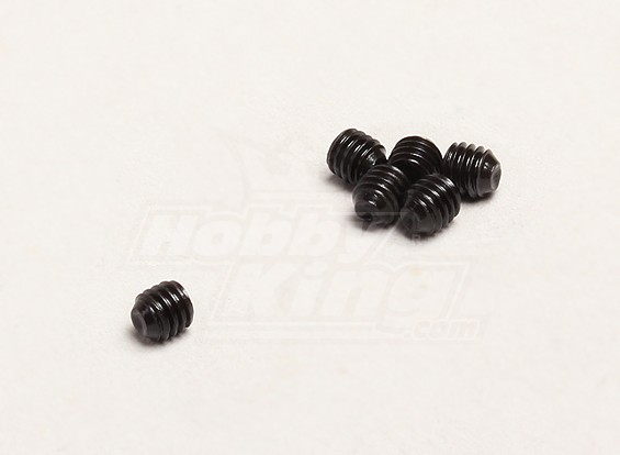 M4x4mm Grub Vis (6pcs / sac) - Turnigy Trailblazer 1/8, XB et XT 1/5