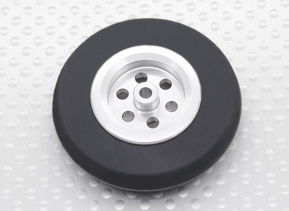 Turnigy échelle Jet Roues en alliage léger w / pneus caoutchouc (45mm)