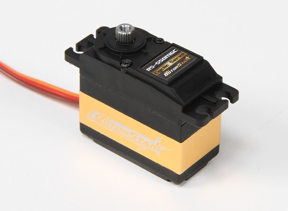 RotorStar ™ RS-550MGC Helicopter Cyclique BB / DS / MG Servo 10,68 kg / 0.083sec / 81g