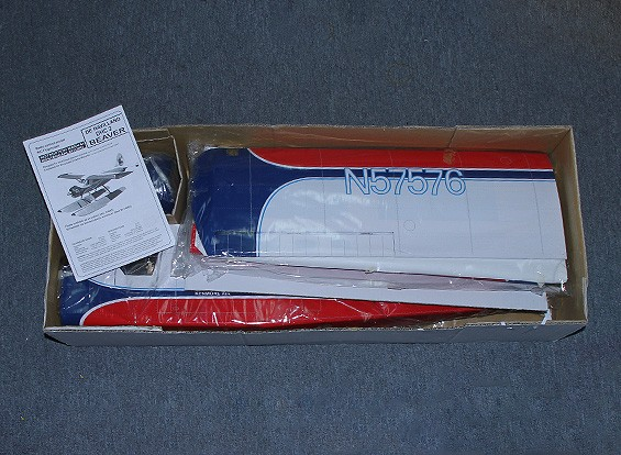 SCRATCH / DENT DHC-2 Beaver EP / GP 0,46 Taille (Kenmore Air) 1620mm (ARF)