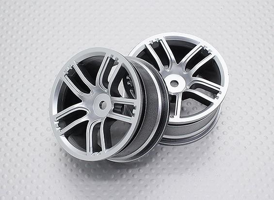 Échelle 1:10 Touring Haute Qualité / Drift Roues RC 12mm Car Hex (2pc) CR-GTS