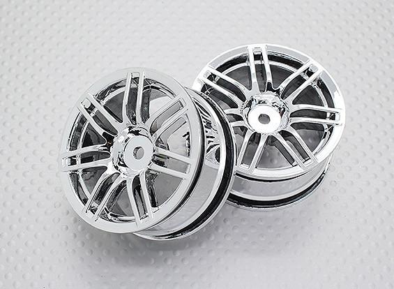 Échelle 1:10 Touring Haute Qualité / Drift Roues RC 12mm Car Hex (2pc) CR-RS4C