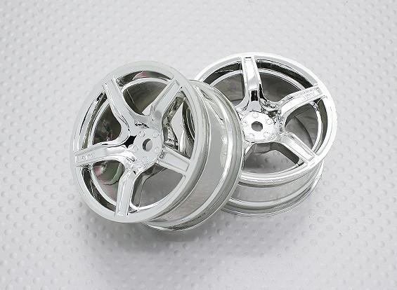Échelle 1:10 Touring Haute Qualité / Drift Roues RC 12mm Car Hex (2pc) CR-C63C