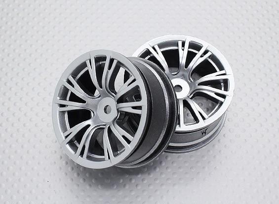 Échelle 1:10 Touring Haute Qualité / Drift Roues RC 12mm Car Hex (2pc) CR-BRS