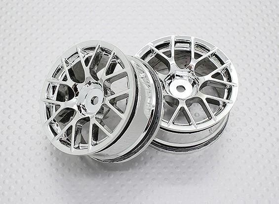 Échelle 1:10 Touring Haute Qualité / Drift Roues RC 12mm Car Hex (2pc) CR-CHC