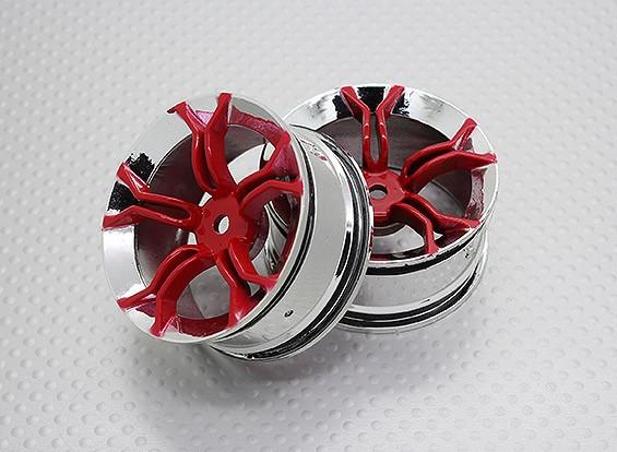 Échelle 1:10 Touring Haute Qualité / Drift Roues RC 12mm Car Hex (2pc) CR-MP4R