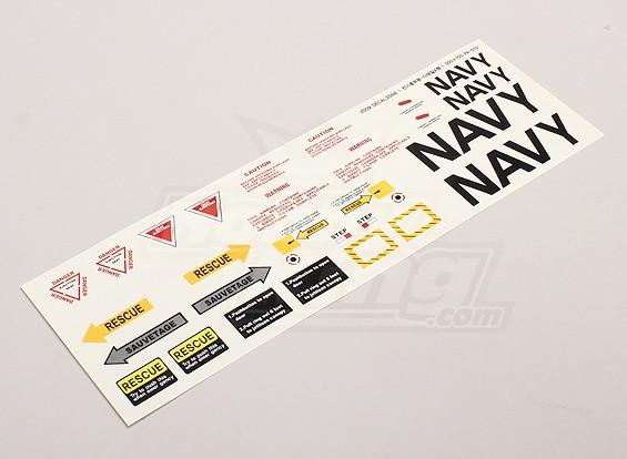 Échelle Jet Decal Sheet 1
