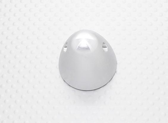 """30mm Aluminum spinner prop écrou 5/16 """"-24 (finition en alliage)"""
