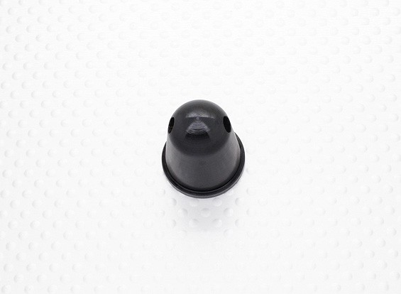 Prop Nut / Spinner 22mm alliage M10x1.00 anodisé noir