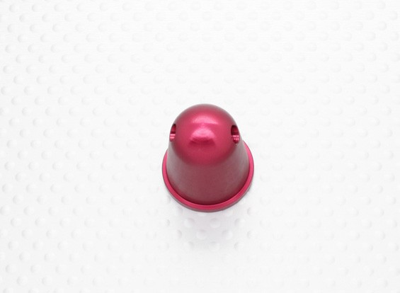 Prop Nut / Spinner 22mm alliage M6x1.00 anodisée rouge