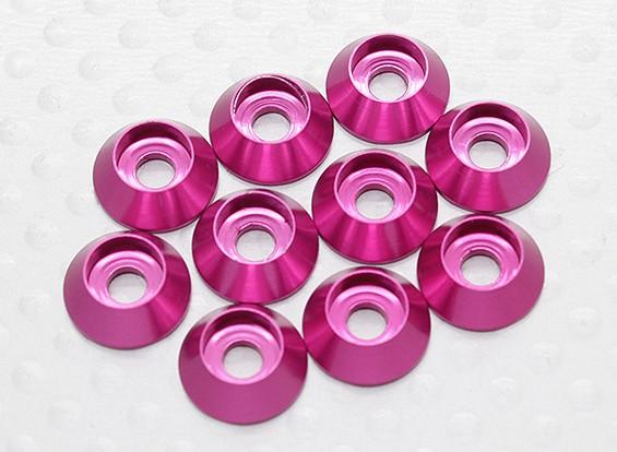 Laveuse six pans en aluminium anodisé M3 (Cherry Red) (10pcs)