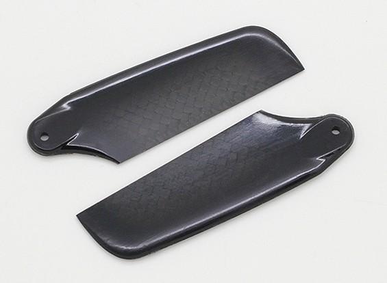 62mm haute qualité carbone pales en fibre de queue