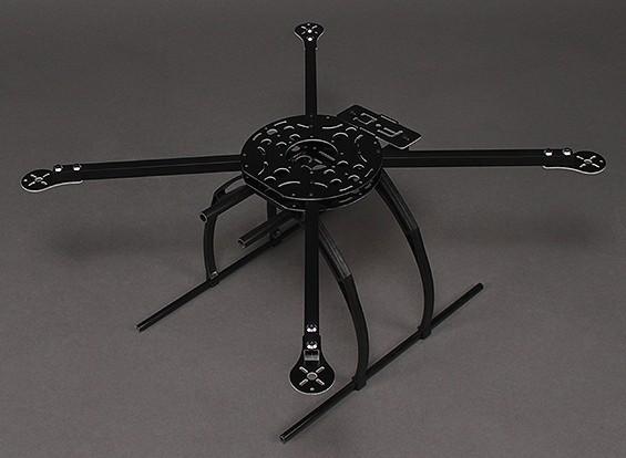 Cadre HobbyKing X580 en fibre de verre Quadcopter w / Caméra Mont 585mm