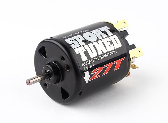 RS540-27T Sport Tuned brossé moteur