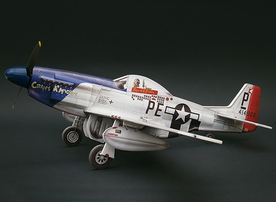 MicroAces P51 Kit D Mustang Cripes A Mighty Micro Airplane Depron standard