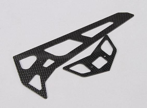 Assault 700 DFC - Queue en fibre de carbone horizontal / vertical Fin Set