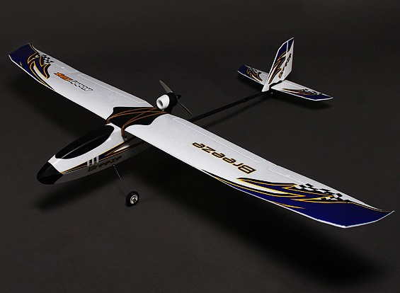 HobbyKing® ™ Breeze Planeur w / Optional Flaps EPO 1400mm (PNF)