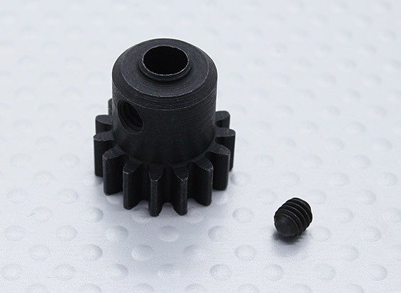 15T Pinion w / M4 * 4 Vis - Nitro Circus Basher 1/8 Scale Monster Truck