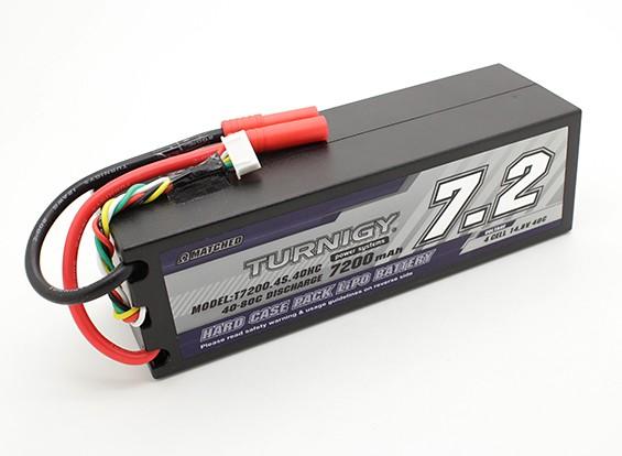 Turnigy 7200mAh 14.8V 4S 40C Hardcase Paquet