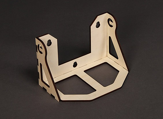 Laser Cut Contreplaqué carburant Plateau pour la boîte Champ H-King 223mm x 44mm x 43mm - Self Assembly