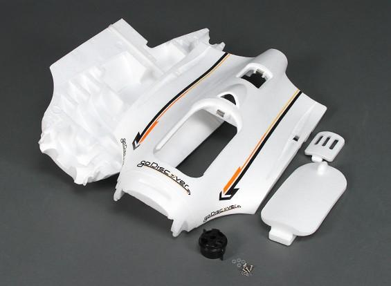 HobbyKing Go Découvrez FPV 1600mm - Remplacement Fuselage w / Mount Motor