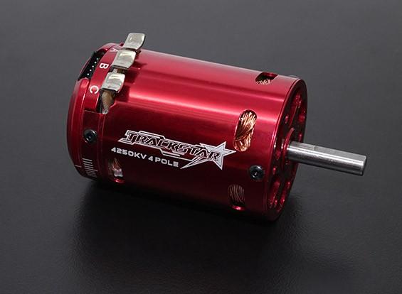 Trackstar 540 taille 4 Pole 4250KV Sensored Motor