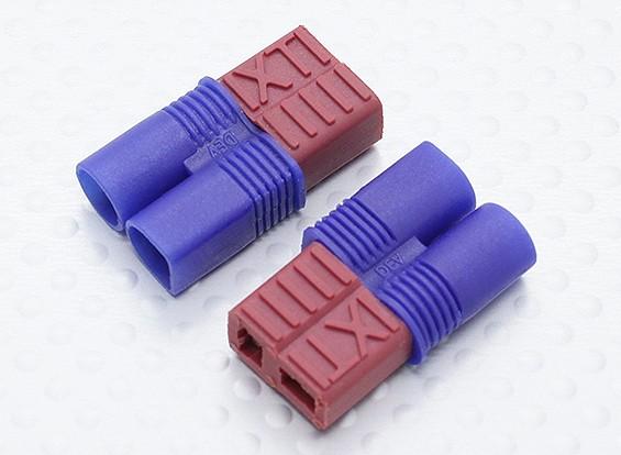 EC3 à T-connecteur de l'adaptateur de batterie (2pc)