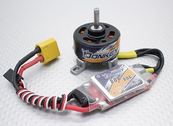 HobbyKing ™ âne ST3007-1100kv Brushless System Power Combo