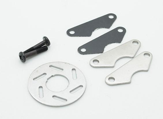 Nitro Toxique - plaquettes de frein et disque de frein